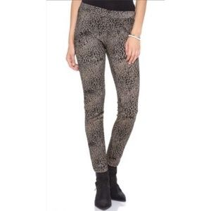 Free People Leopard Animal Print Legging jegging